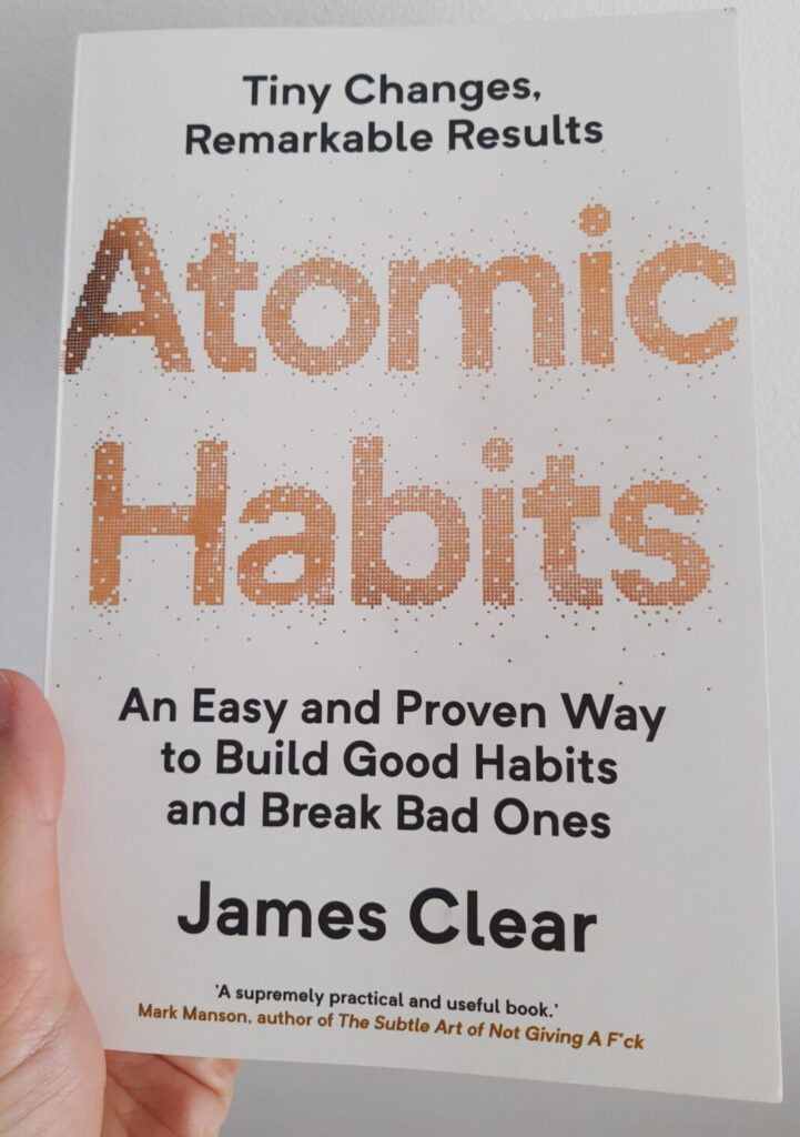 Atomic Habits 1%-Methode James Clear Buch